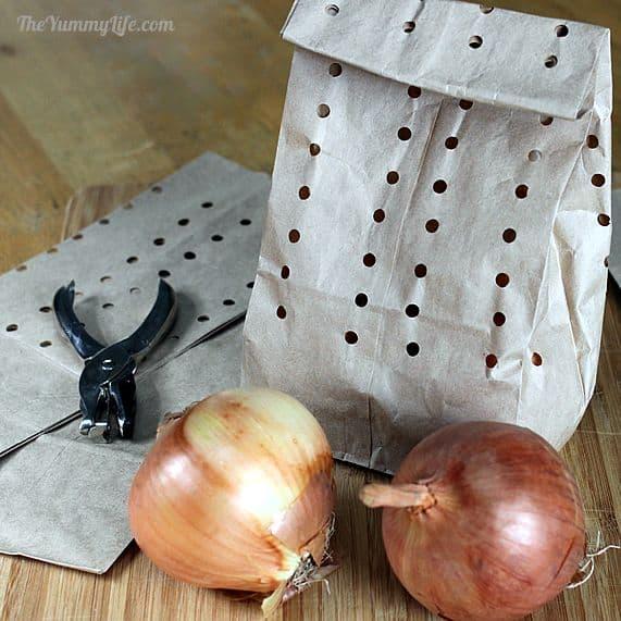 Cómo almacenar cebollas, ajo y chalotas 9