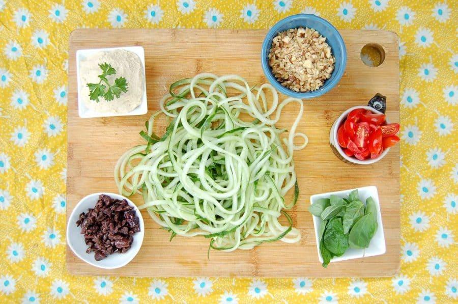 ingredientes para aprovechar los restos de hummus