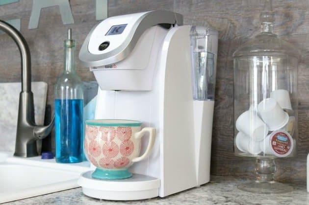 como limpiar la cafetera