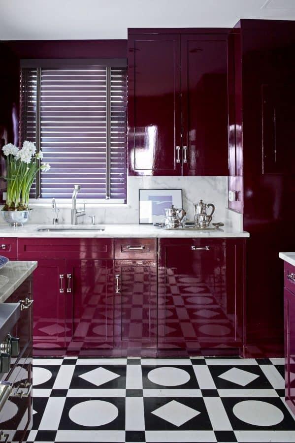 nick olsen colorful kitchen