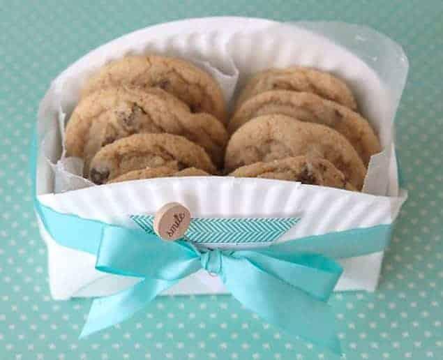 Una manera bonita e ingeniosa de envolver galletas caseras 1