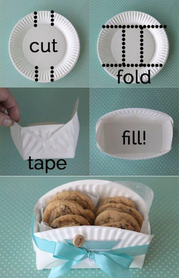 Una manera bonita e ingeniosa de envolver galletas caseras 2