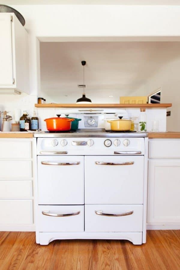 como limpiar los estantes de los hornos