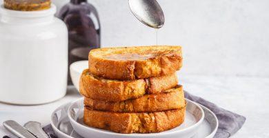 Cómo hacer tostadas francesas de miel