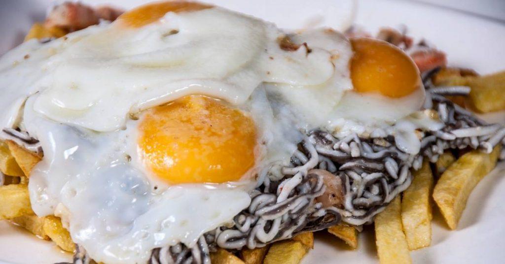 Recetas de anguilas con huevo