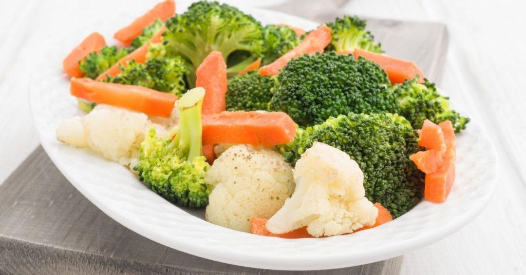Cuánto tiempo se tarda en cocinar al vapor las verduras?
