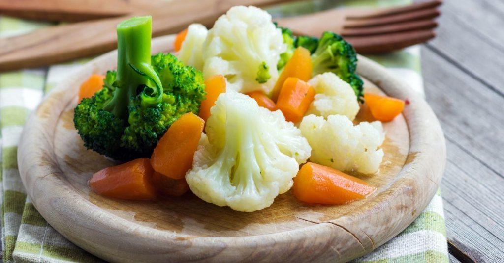 Cómo cocinar al vapor verduras sin vapor?