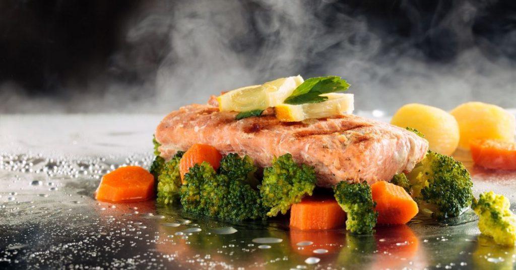 Compañeros perfectos para las verduras al vapor