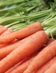 Información nutricional de la zanahoria