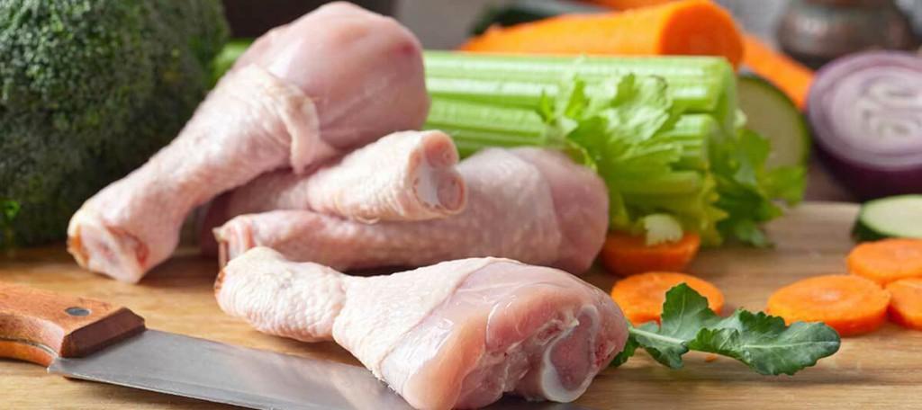 Como cortar en rodajas el pollo