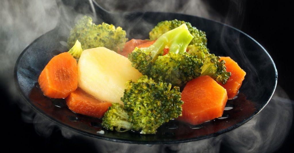 Verduras: cómo cocinar al vapor sin vapor